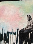 Marsha P on the Piers, Syrus Marcus Ware, 2010, Mixed Media on Canvas