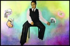 Self Portrait with Cotton Balls, 6 ft x 9 ftm 2006