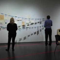 Activist Love Letters, Lethbridge Art Gallery Performance, 2014